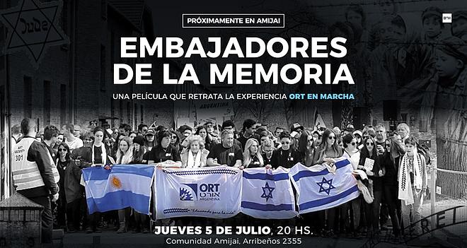 Película Embajadores de la Memoria